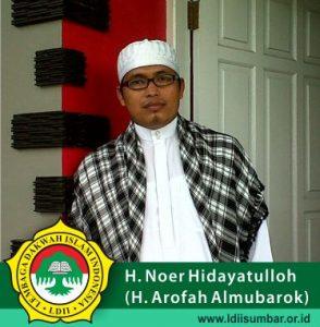 Ust. H. Noer Hidayatulloh (H. Arofah Almubarok)
